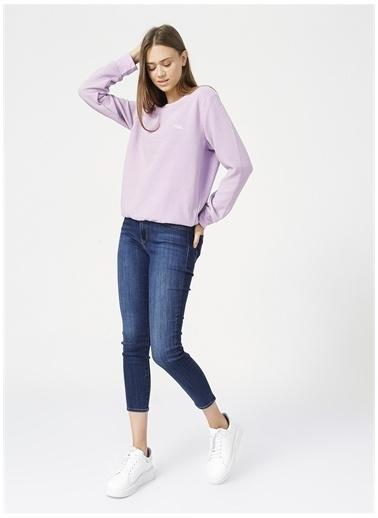 National Geographic Sweatshirt Lila